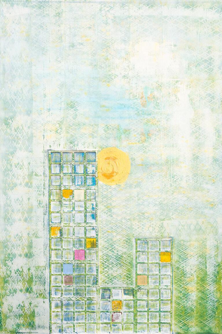 Der-pinke-Vorhang-Dr.-Ellen-Buckermann100x140cm